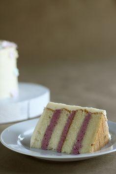 Almond, Cherry & White Chocolate Cake