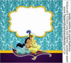 festa princesas jasmine - Pesquisa Google