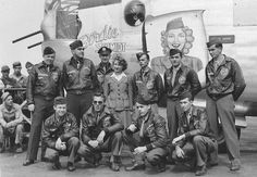 """Not all jackets had pin-up girls, cartoons or death dealing icons, the 392nd Bomb Group decided to honor Birdie Schmidt of the American Red Cross (ARC), by naming one of their B-24s, """"Birdie Schmidt"""".  To them, Birdie and her colleagues were more than donut dollies, they were a touch of home away from home."""