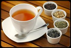 herbal infusions and decoctions (a.k.a. teas)!