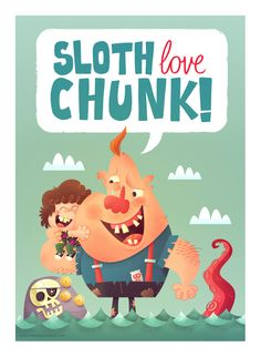 Sloth Love Chunk by Matt Kaufenberg on deviantART