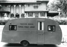 Topeka (Kans.) Public Library, traveling branch, 1943.