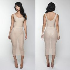 BEIGE VOILE BOD YCON BANDAGE DRESSES FASHION CASUAL SEXY DRESS SUMMER NEW WOMEN PARTY CLUB DRESS INCLUDING THE LINING