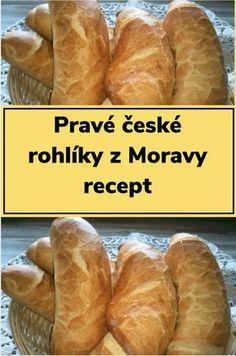 Czech Recipes, How Sweet Eats, Hot Dog Buns, Food Inspiration, Ham, Bakery, Clean Eating, Food Porn, Croissant