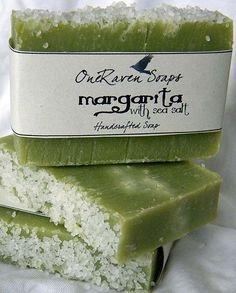Margarita with Sea Salt  Handmade Soap  OneRaven by OneRavenSoaps, $5.25