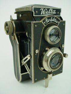 Vintage Welta Perfekta Folding TLR Camera w 7 5cm Meyer Lens 120 Film RARE | eBay