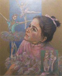 Dancer 's Dream Illustration
