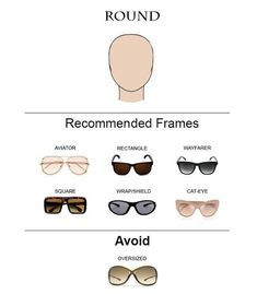 90c951955d8 Knowing the right tips on how to choose glass frames for your face shape is  the first step to looking chic when wearing eyeglasses or sunglasses.