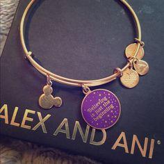 Beautiful brand new Disney Alex and Ani bracelet It is brand new and comes with box Alex & Ani Jewelry Bracelets