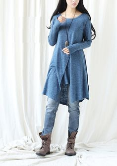Casual Long Sleeved Tshirt Blouse for Autumn and by deboy2000