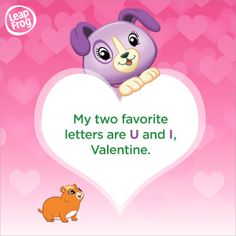 Print this Violet Valentine's Card for your little loved one!