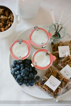 Ready to go parfaits could be great for new mommas!  The Mason Jar | SW The Mason Jar | Editorial