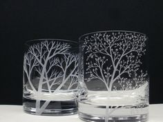 hand engraved glass. beautiful work