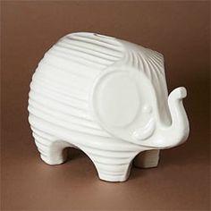 Elephant Tzedakah Box | Audrey's Museum Store at the Skirball