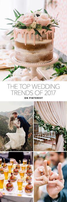 Top Wedding Trends of 2017 on Pinterest | Brides.com