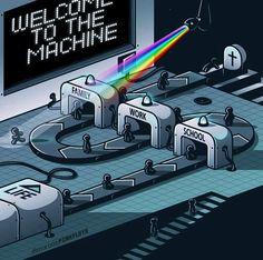 Pink Floyd Artwork, Pink Floyd Poster, Mundo Meme, Tattoo Pink, Arte Pink Floyd, Family Meme, Digital Foto, Psy Art, Art Sculpture