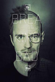 Uma das melhores artes de Breaking Bad!
