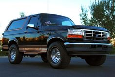 Back in the Day...1995 Bronco Eddie Bauer