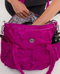 Look Ashley.... a Lu Lu bag for Lola's stuff! Lu lu lemon gym bag. I'd use this as a purse in a second!