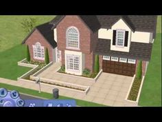 Traditional suburban Home for Sims 2