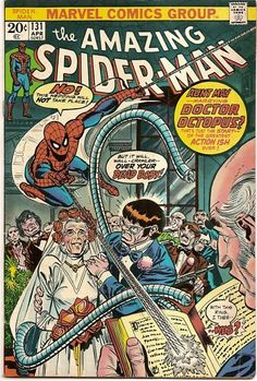 BRONZE AGE 1974 AMAZING SPIDER-MAN # 131 MARVEL COMICS!!