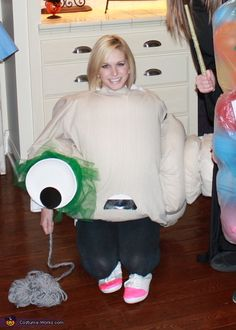 This homemade costume for women entered our 2012 Halloween Costume Contest, and won 1st place in the Most Creative Costume nomination!