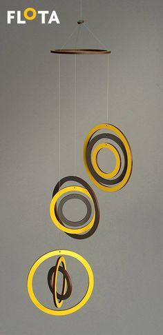 Beautiful hanging mobile - Geometric - Circles - Home Decor