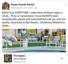 Love FRONTGATE... Order online; catalog.