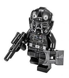 Lego Star Wars Rogue One Hi Res Minifigure Images Tie Pilot http://www.flickr.com/photos/138857207@N06/29105585250/