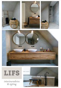 www.lifs.nl #lifs #interior #interiordesign #ontwerp #3D #badkamer #maatwerk #bad #wastafelmeubel