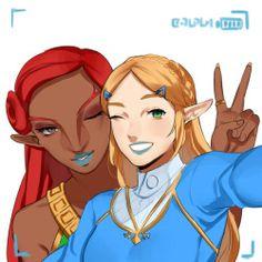 Part 4 - Urbosa and Zelda Lipstick
