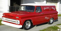 1965 chevy truck | Picture of 1965 Chevrolet Panel Truck Street Rod