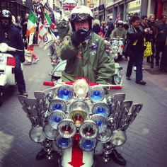 #ScooterRally #Carnaby #Lambretta #Scooterist #sixties #NorthernSoul