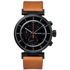 Issey Miyake Watch - W - Leather - Brown/Black