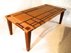 Reclaimed Modern Dining Table