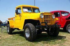 1962 Willys Pickup Truck by geepstir, via Flickr