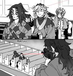 (1) หน้าแรก / ทวิตเตอร์ Anime Ai, Anime Demon, Anime Manga, Slayer Meme, Demon Slayer, Relaxing Art, Demon Hunter, Handsome Anime Guys, Funny Comics