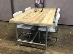 Kee Klamp dining room table.