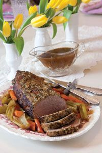 Paula Deen's Homestyle Eye of Round Roast