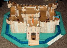 Make your own model medieval castle -- a learning activity that teaches about history, feudalism and life in the Middle Ages.