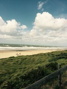 The white beaches of Domburg, Zeeland, The Netherlands