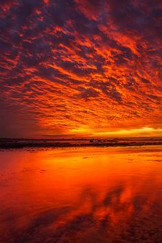 Sky on Fire | vividessentials