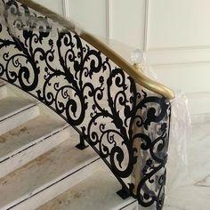 custom stair railing