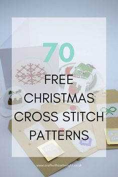 70 christmas cross stitch patterns free to print It's the perfect winter crafty activity. So I designed 70 new Christmas cross stitch patterns, which are free to print. To make up some new projects with. Modern Cross Stitch Patterns, Counted Cross Stitch Patterns, Cross Stitch Designs, Cross Stitch Embroidery, Cross Stitches, Cross Stitch Patterns Free Christmas, Embroidery Cards, Christmas Patterns, Embroidery Patterns