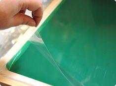 DIY Screen Printing with Photo Emulsion Sheets