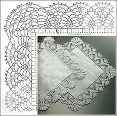 Stricken Baby :Tina& handicraft : 160 designs & pattern for trimmings , Crochet Border Patterns, Crochet Lace Edging, Crochet Motifs, Doily Patterns, Crochet Chart, Filet Crochet, Crochet Doilies, Knitting Patterns, Crochet Stitch