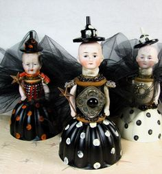 Assemblage Art Dolls