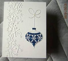 dw Christmas Ornament by deb_loves_stamping - Cards and Paper Crafts at Splitcoaststampers