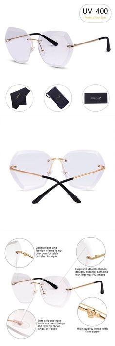 0f4fa6990ea Sunglasses gucci for women polarized mirror sunglasses sunglasses for women  polarized uv protection  rimless