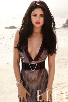 Selena Gomez Gets Sexy In Elle